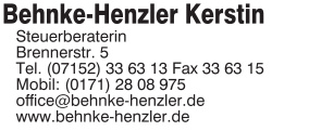 Behnke-Henzler